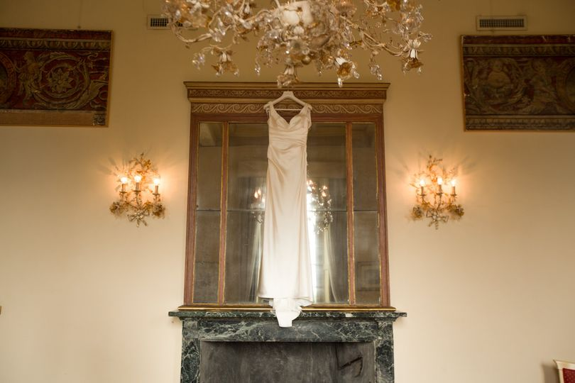 Fabulous wedding gown