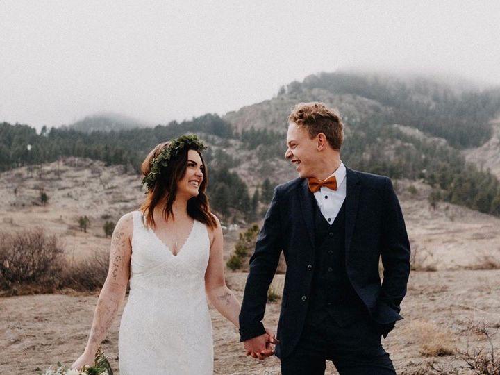 Tmx Bride And Groom Chautauqua 51 1962785 158731982380526 Longmont, CO wedding florist