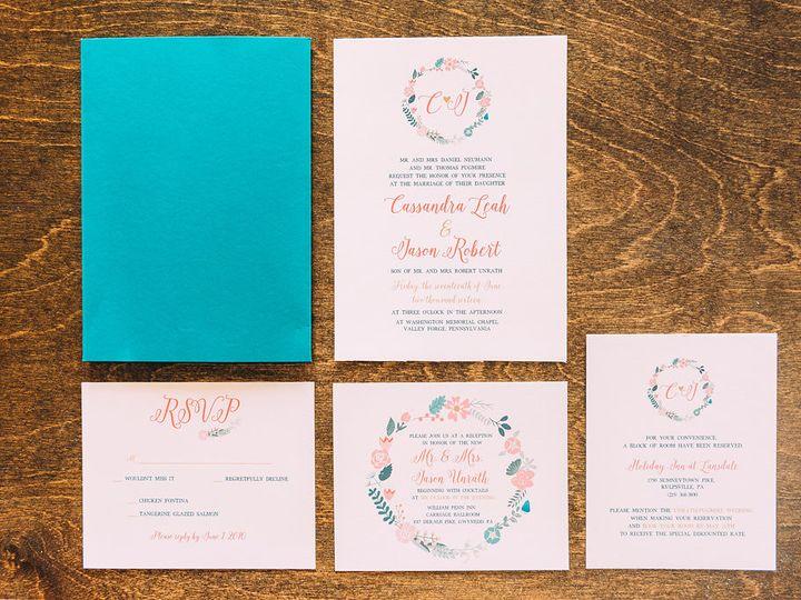 Tmx 1488150360383 Lovelilly 39 Philadelphia, PA wedding invitation