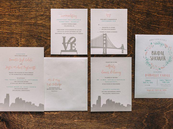 Tmx 1488150413252 Lovelilly 50 Philadelphia, PA wedding invitation