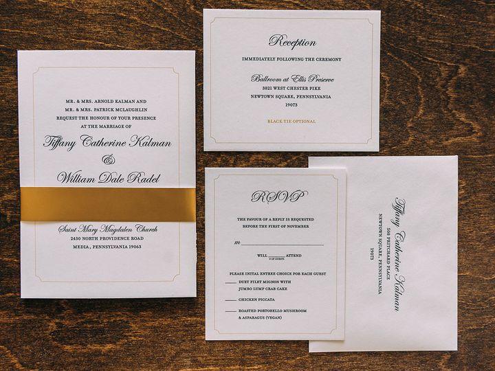 Tmx 1488750451083 Lovelilly 107 Philadelphia, PA wedding invitation