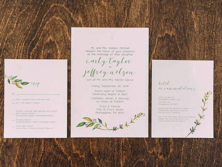 Tmx 1488900070456 Lovelilly 12 Philadelphia, PA wedding invitation