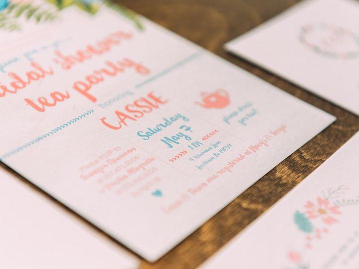 Tmx 1488900121885 Lovelilly 42 Philadelphia, PA wedding invitation