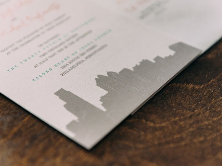 Tmx 1488900155897 Lovelilly 51 Philadelphia, PA wedding invitation