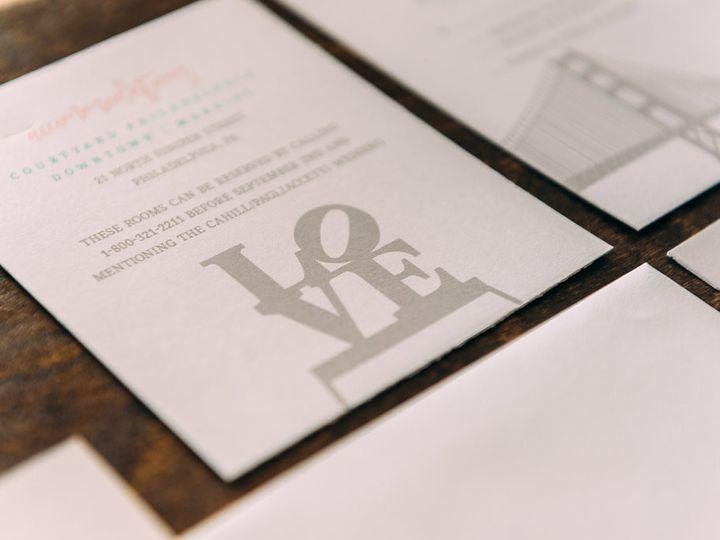 Tmx 1488900182614 Lovelilly 55 Philadelphia, PA wedding invitation