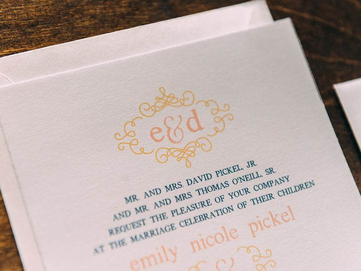 Tmx 1488900201143 Lovelilly 64 Philadelphia, PA wedding invitation