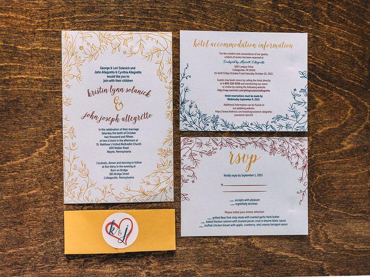 Tmx 1488900253949 Lovelilly 82 Philadelphia, PA wedding invitation