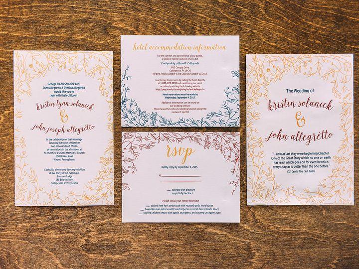 Tmx 1488900265132 Lovelilly 85 Philadelphia, PA wedding invitation