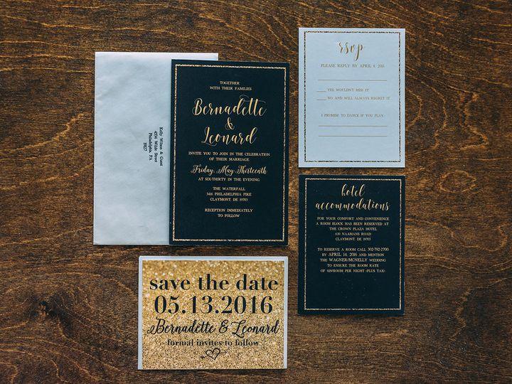 Tmx 1488900328552 Lovelilly 99 Philadelphia, PA wedding invitation