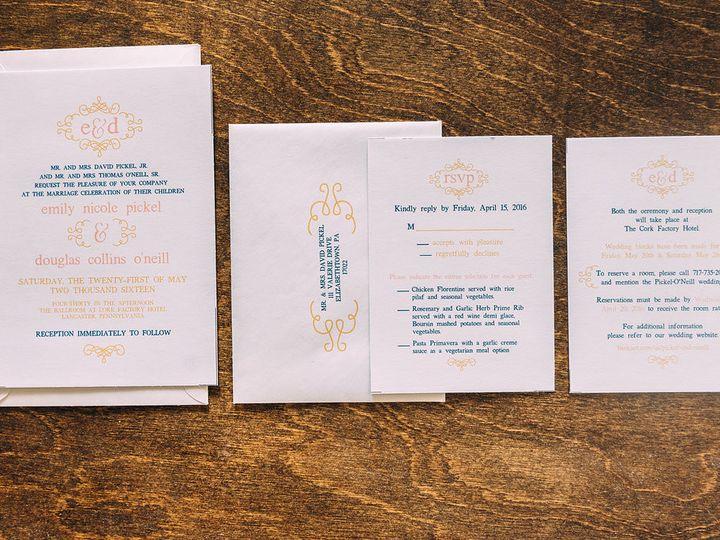 Tmx 1488900766917 Lovelilly 63 Philadelphia, PA wedding invitation