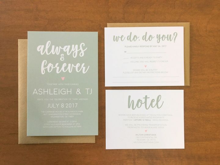 Tmx 1501524429058 Img8590 Philadelphia, PA wedding invitation