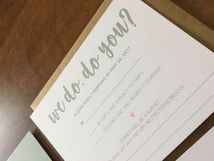 Tmx 1501524429075 Img8573 Philadelphia, PA wedding invitation