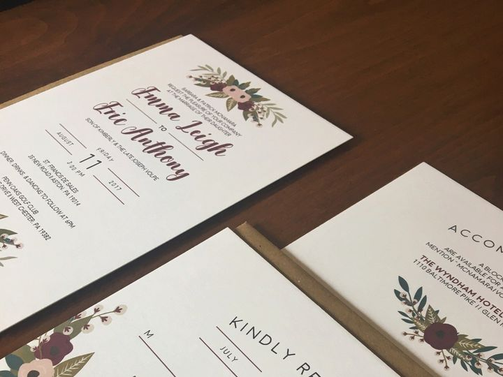 Tmx 1501524469451 Img9178 Philadelphia, PA wedding invitation