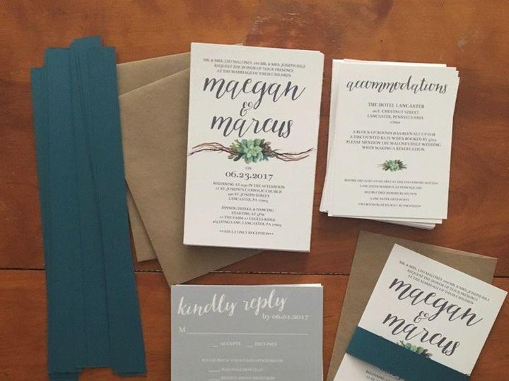 Tmx 1501524489012 Img9210 Philadelphia, PA wedding invitation