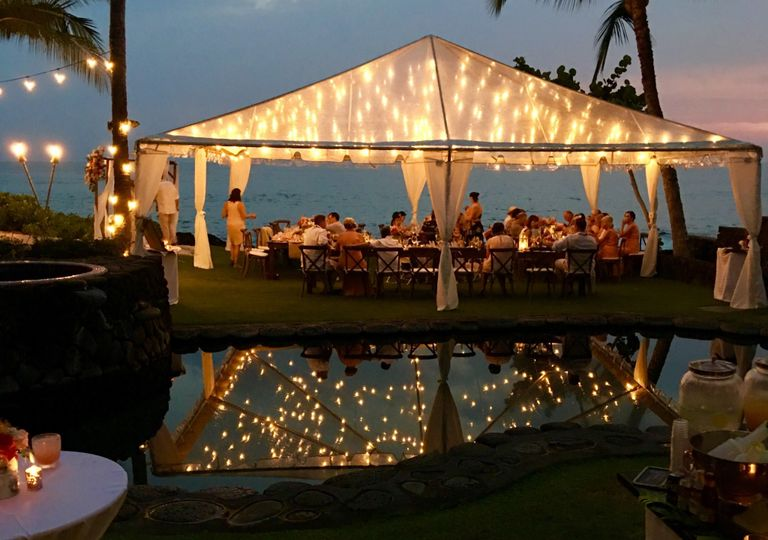 Clear Tent and Cafe Lighting