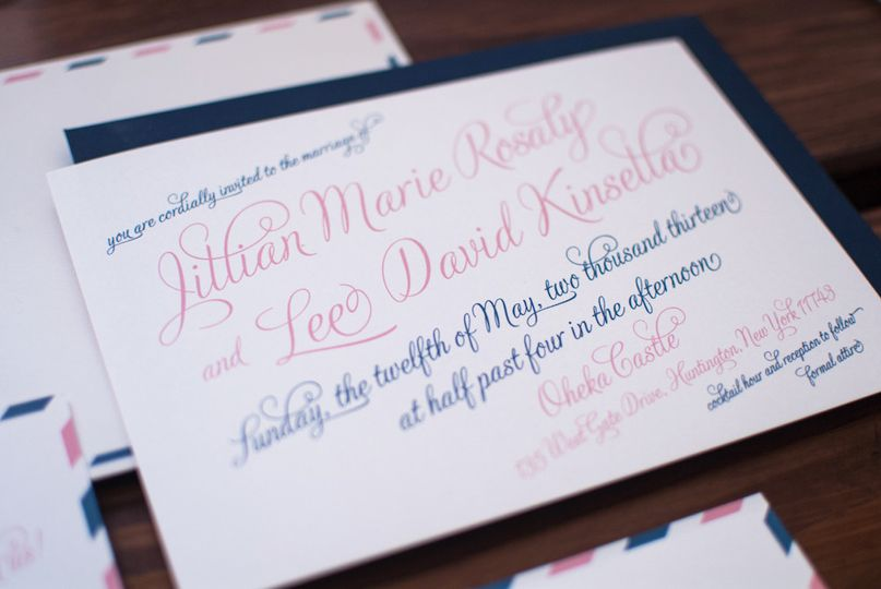 Jillian + Lee's wedding was a gorgeous, romantic affair that reflected their love for travel.   See...