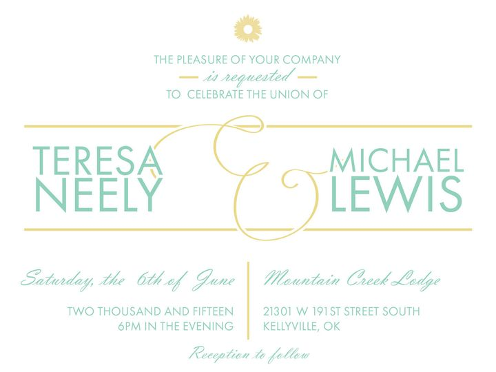 Tmx 1423166781661 Scubagold Broken Arrow wedding invitation