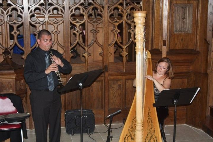 harp and oboe