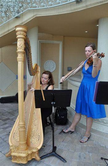 harp and violin florida