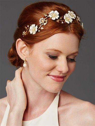 flower headband mariell sale bridalvaganza hb4443