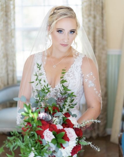 Beautiful brides by us!