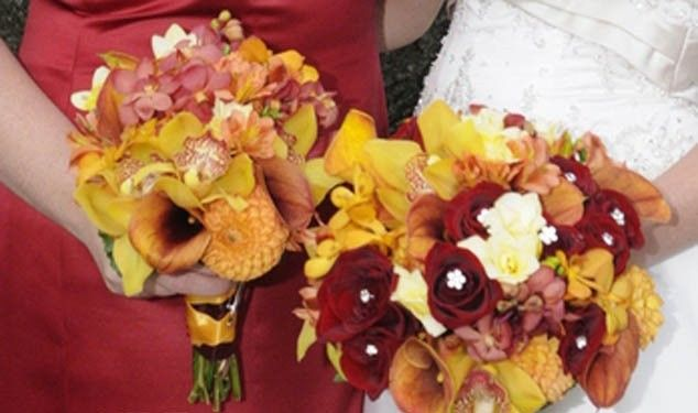 Tmx 1456265968334 October20wedding20bouquets20cropl 20bella20picture Caldwell, NJ wedding florist