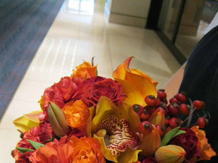 Tmx 1456266063284 Fall Bouquet Caldwell, NJ wedding florist