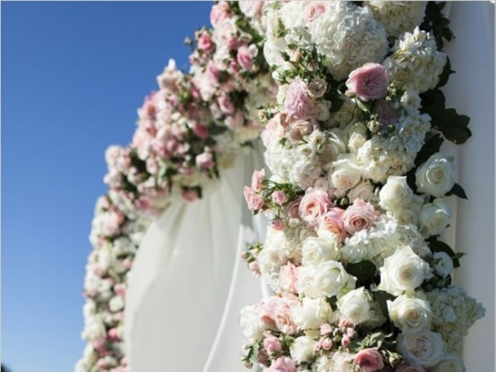 Tmx 1456352271470 Ae699floral Covered Wedding Arch Caldwell, NJ wedding florist