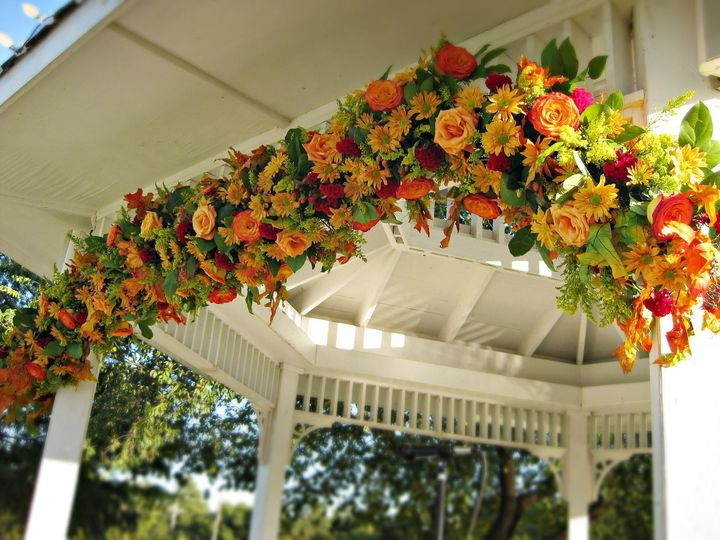 Tmx 1456352562795 Gazebo Garland Detail2 Small Caldwell, NJ wedding florist