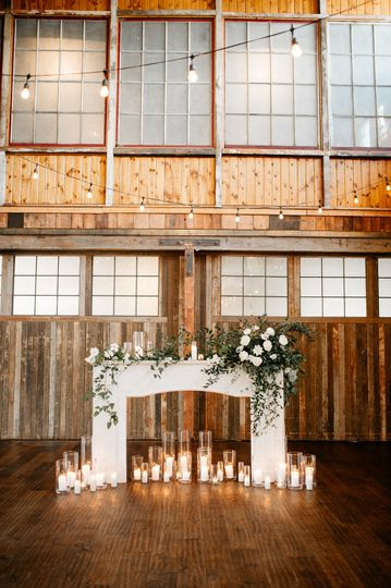 Candles and decor