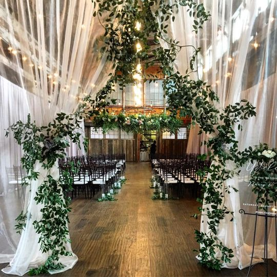 Lovely ceremony space