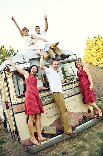 Fun shots on the neighbors vintage bus! kkayphoto.com