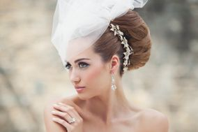 Bridal hair by Remona