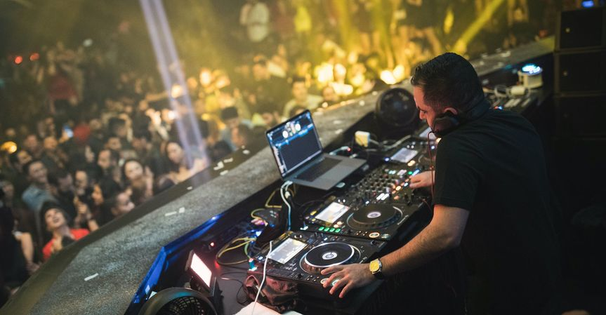 DJ taba at Jewel, Las Vegas