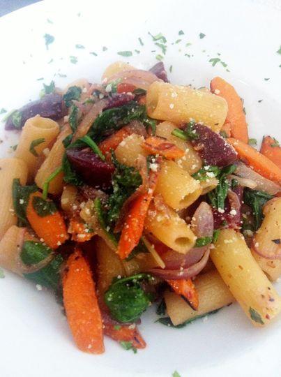 Roasted Root Vegetable Rigatoni