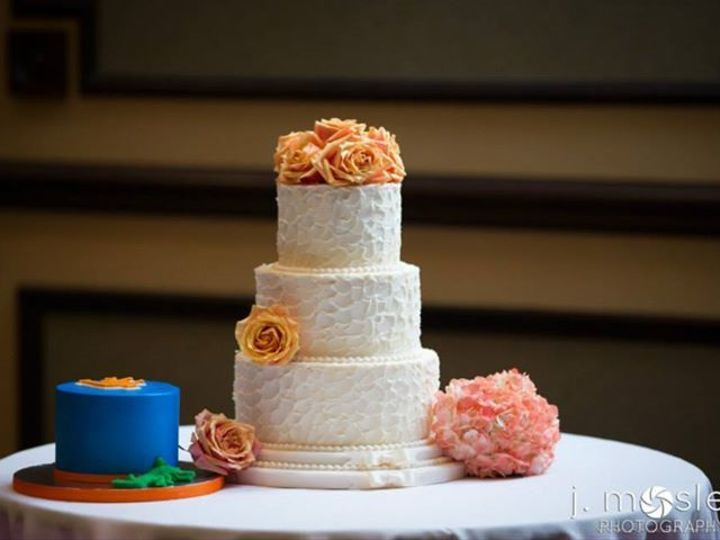 Tmx 1526667886 A57274979760f326 1526667885 15c55a9bdd8a5322 1526667879002 2 Rusticbuttercream Ormond Beach wedding cake