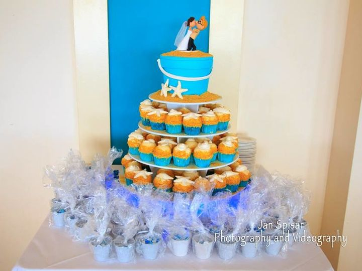 Tmx 1526668398 B42b5eb30645683d 1526668397 5a4dfb31e06c80e8 1526668394512 3 Beach Themed Weddi Ormond Beach wedding cake