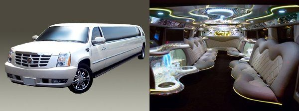 Tmx 1317932054395 2220Pass20White20escalade20limo Jersey City wedding transportation
