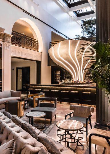 A stunning bar