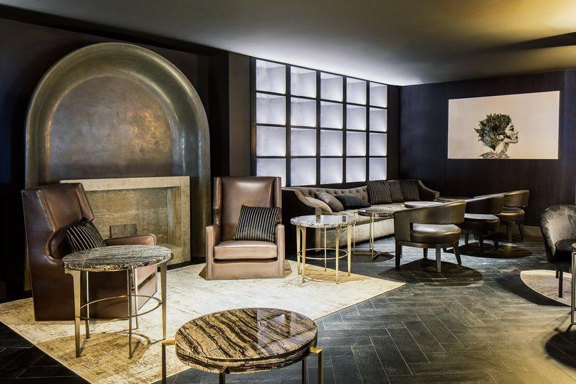 A modish lounge