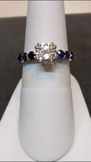 Diamonds aand sapphires