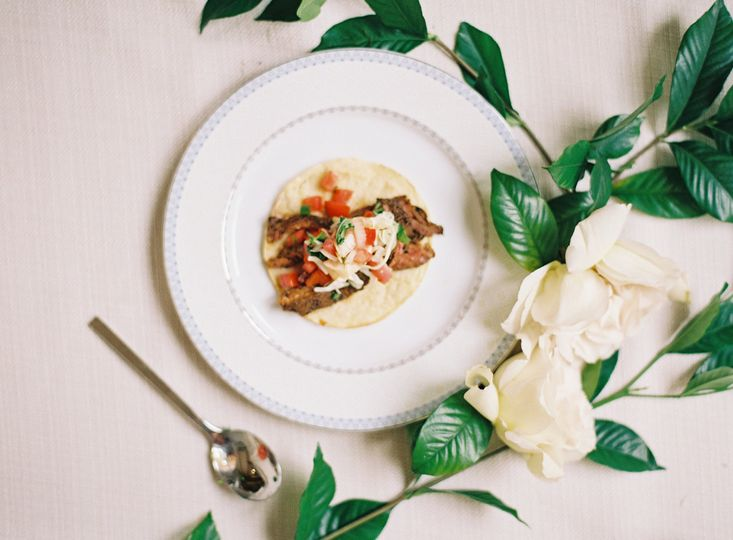 Argentinian steak taco | Photo by Chelsey Boatwright Photography