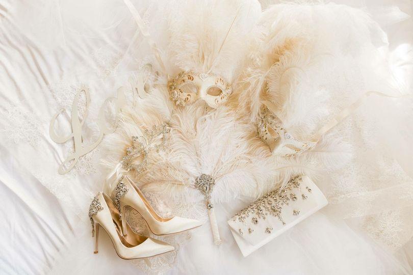 Bride's things