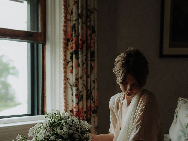 Tmx 1488990991563 Romanticbridalbouquetdesign Nectarrootsimpleromant Burlington, Vermont wedding florist