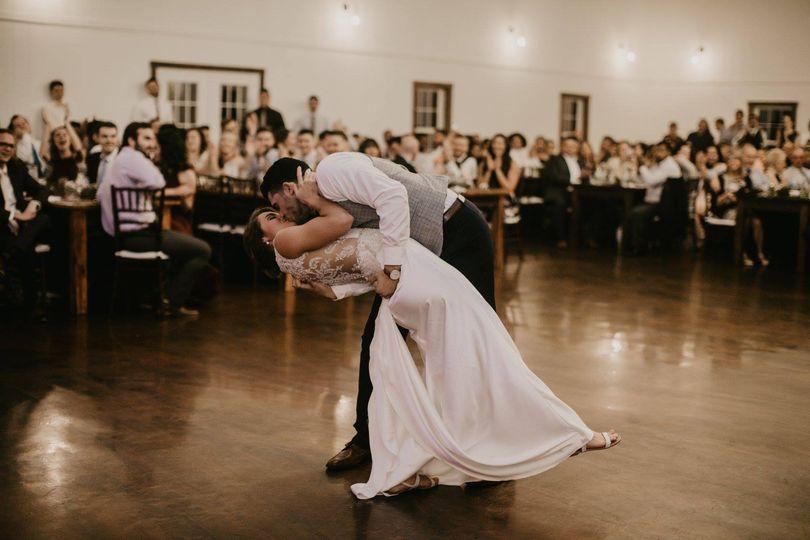 First dance dips