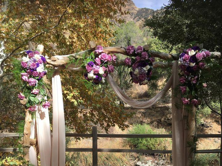 Tmx Purple Arch 51 1976885 159743484270177 El Segundo, CA wedding florist