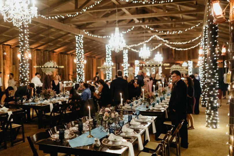 Barn-style Wedding