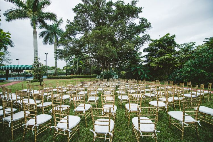 Ceremony by Banyan Tree