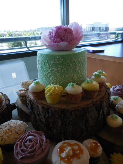 c1c7a9533d3dd9fe mint green filigree wedding cake