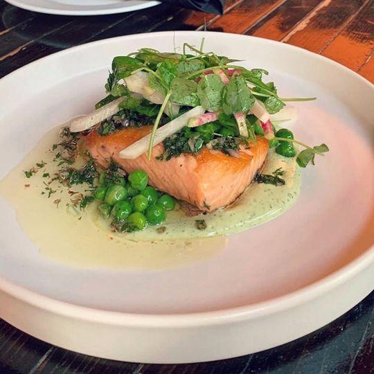 Sea-inspired dish